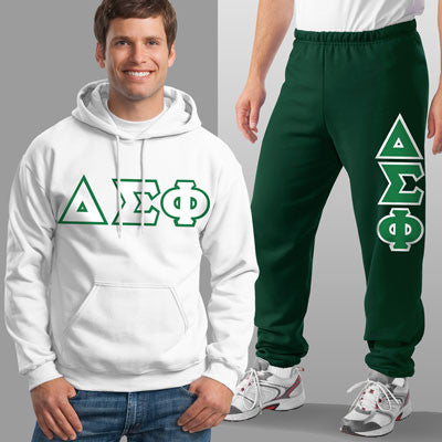 Delta Sigma Phi Hoody / Sweatpant Package - TWILL