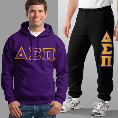 Delta Sigma Pi Hoody / Sweatpant Package - TWILL