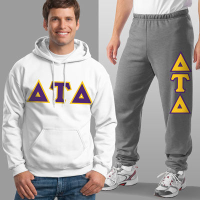 Delta Tau Delta Hoody / Sweatpant Package - TWILL