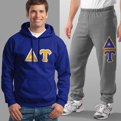 Delta Upsilon Hoody / Sweatpant Package - TWILL