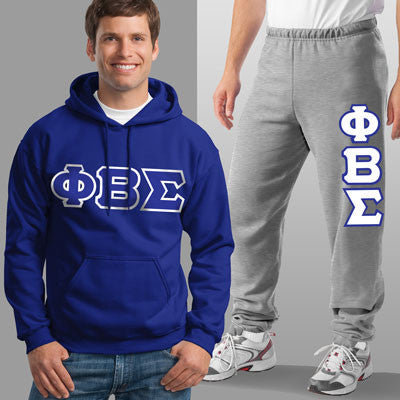 Phi Beta Sigma Hoody / Sweatpant Package - TWILL