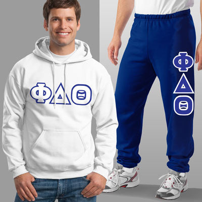 Phi Delta Theta Hoody / Sweatpants Package - TWILL