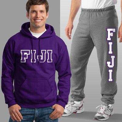 FIJI Hoody / Sweatpants Package - TWILL