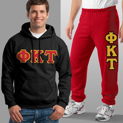 Phi Kappa Tau Hoody / Sweatpant Package - TWILL