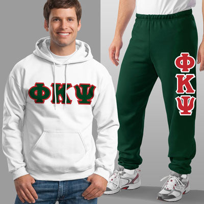Phi Kappa Psi Hoody / Sweatpant Package - TWILL