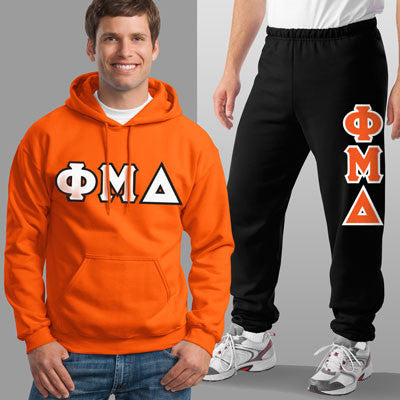 Phi Mu Delta Hoody / Sweatpant Package - TWILL