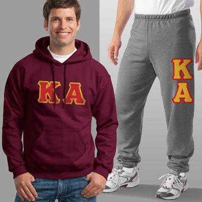 Kappa Alpha Hoody / Sweatpant Package - TWILL