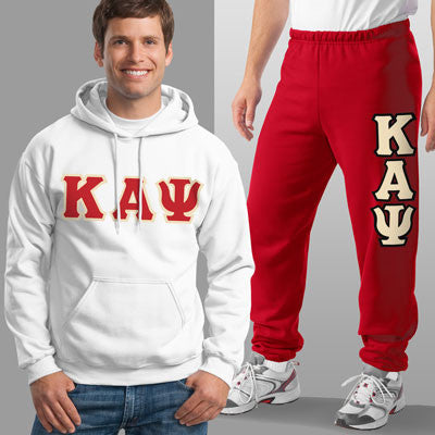 Kappa Alpha Psi Hoody / Sweatpant Package - TWILL