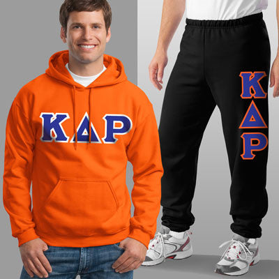 Kappa Delta Rho Hoody / Sweatpant Package - TWILL