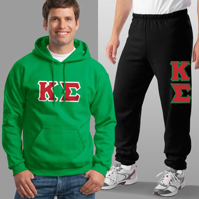Kappa Sigma Hoody / Sweatpant Package - TWILL