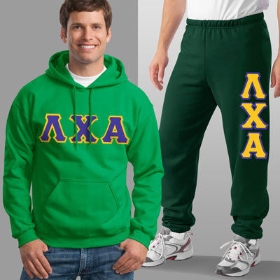 Lambda Chi Alpha Hoody / Sweatpant Package - TWILL