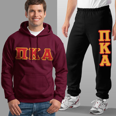 Pi Kappa Alpha Hoody / Sweatpant Package - TWILL
