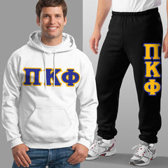 Pi Kappa Phi Hoody / Sweatpant Package - TWILL