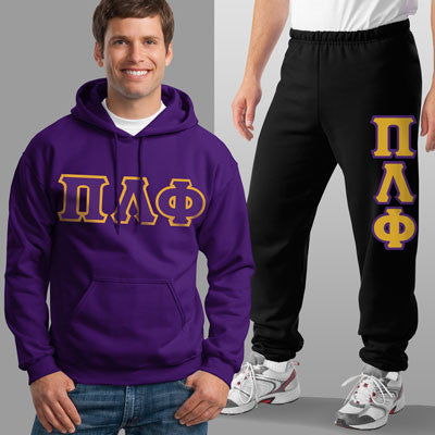 Pi Lambda Phi Hoody / Sweatpant Package - TWILL