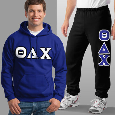 Theta Delta Chi Hoody / Sweatpant Package - TWILL