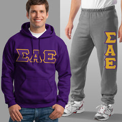Sigma Alpha Epsilon Hoody / Sweatpant Package - TWILL