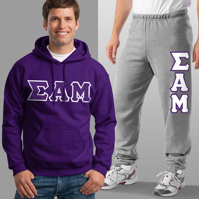 Sigma Alpha Mu Hoody / Sweatpant Package - TWILL