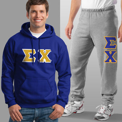 Sigma Chi Hoody / Sweatpant Package - TWILL