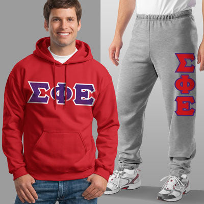 Sigma Phi Epsilon Hoody / Sweatpant Package - TWILL