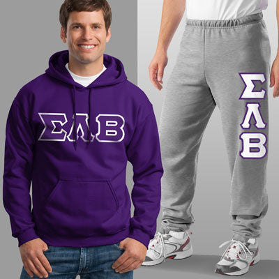 Sigma Lambda Beta Hoody / Sweatpant Package - TWILL