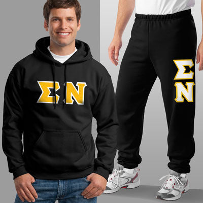 Sigma Nu Hoody / Sweatpant Package - TWILL