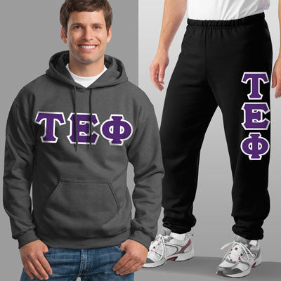 Tau Epsilon Phi Hoody / Sweatpant Package - TWILL