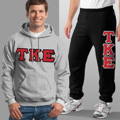 Tau Kappa Epsilon Hoody / Sweatpant Package - TWILL