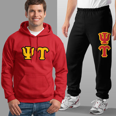 Psi Upsilon Hoody / Sweatpant Package - TWILL