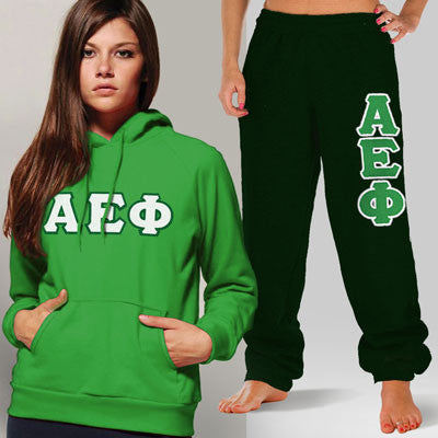 Alpha Epsilon Phi Hoody / Sweatpant Package - TWILL