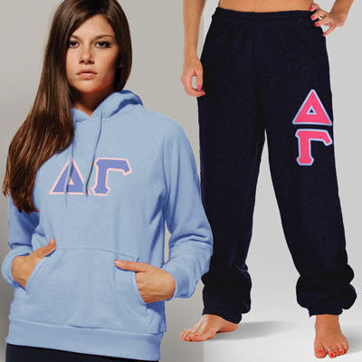 Delta Gamma Hoody / Sweatpant Package - TWILL