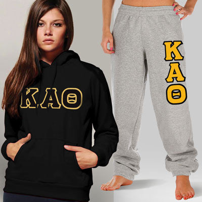 Kappa Alpha Theta Hoody / Sweatpant Package - TWILL