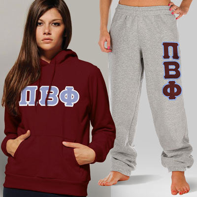 Pi Beta Phi Hoody / Sweatpant Package - TWILL