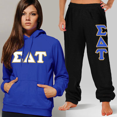 Sigma Delta Tau Hoody / Sweatpant Package - TWILL