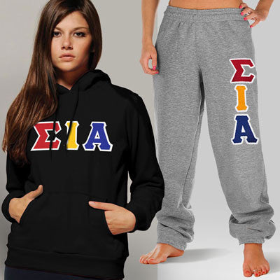 Sigma lota Alpha Hoody / Sweatpant Package - TWILL