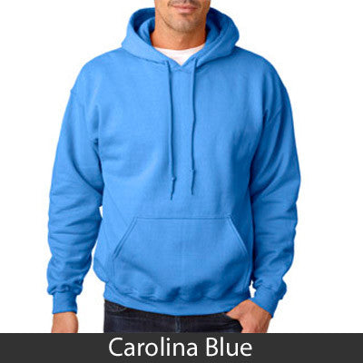 Zeta Beta Tau State and Date Printed Hoody - Gildan 18500 - CAD