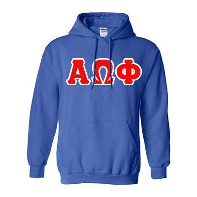Alpha Omega Phi Hooded Sweatshirt - Gildan 18500 - TWILL