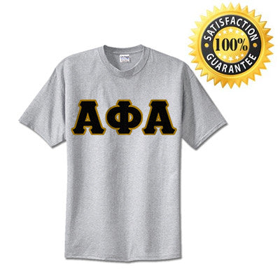 Alpha Phi Alpha Standards T-Shirt - $14.99 Gildan 5000 - TWILL