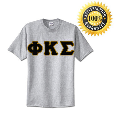 Fraternity Standards T-Shirt For Only $14.99 - Gildan 500 - TWILL