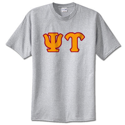 Psi Upsilon Fraternity Lettered T-Shirt