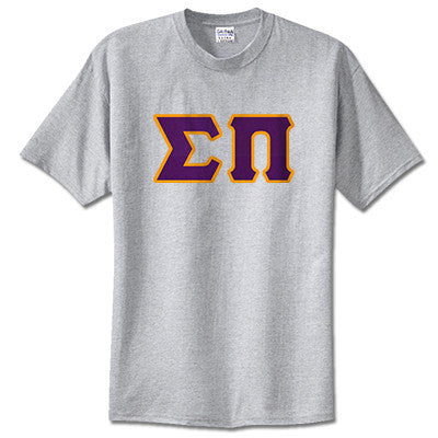 Sigma Pi Fraternity Lettered T-Shirt