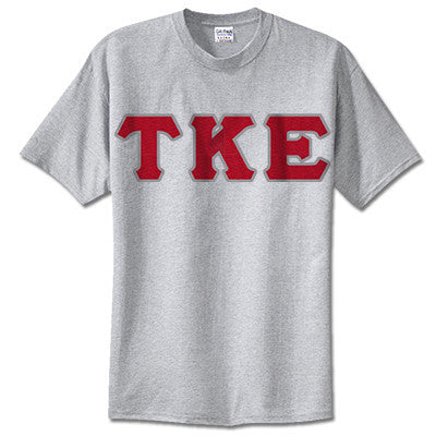 Tau Kappa Epsilon Fraternity Lettered T-Shirt