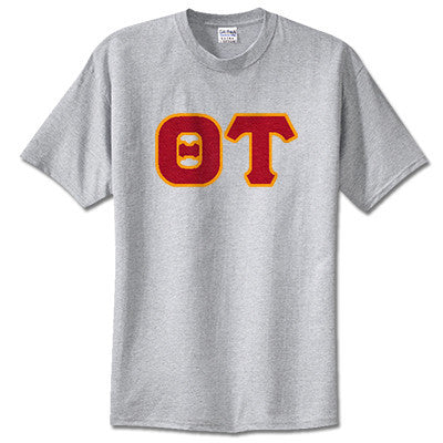 Theta Tau Fraternity Lettered T-Shirt