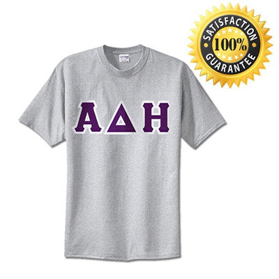 Alpha Delta Eta Standards T-Shirt - $14.99 - Gildan 5000 - TWILL