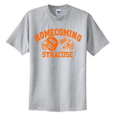 Greek Football Homecoming Printed T-Shirt - Gildan 5000 - CAD