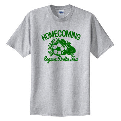Greek Soccer Homecoming Printed T-Shirt - Gildan 5000 - CAD