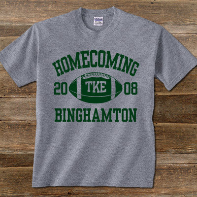 Greek Homecoming Printed T-Shirt - Gildan 5000 - CAD