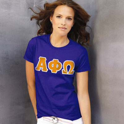 Alpha Phi Omega Ladies T-Shirt - Gildan 2000L - TWILL