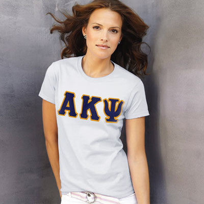 Alpha Kappa Psi Ladies T-Shirt - Gildan 2000L - TWILL