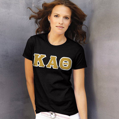 Kappa Alpha Theta Ladies T-Shirt - Gildan 2000L - TWILL