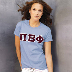 Pi Beta Phi Ladies T-Shirt - Gildan 2000L - TWILL